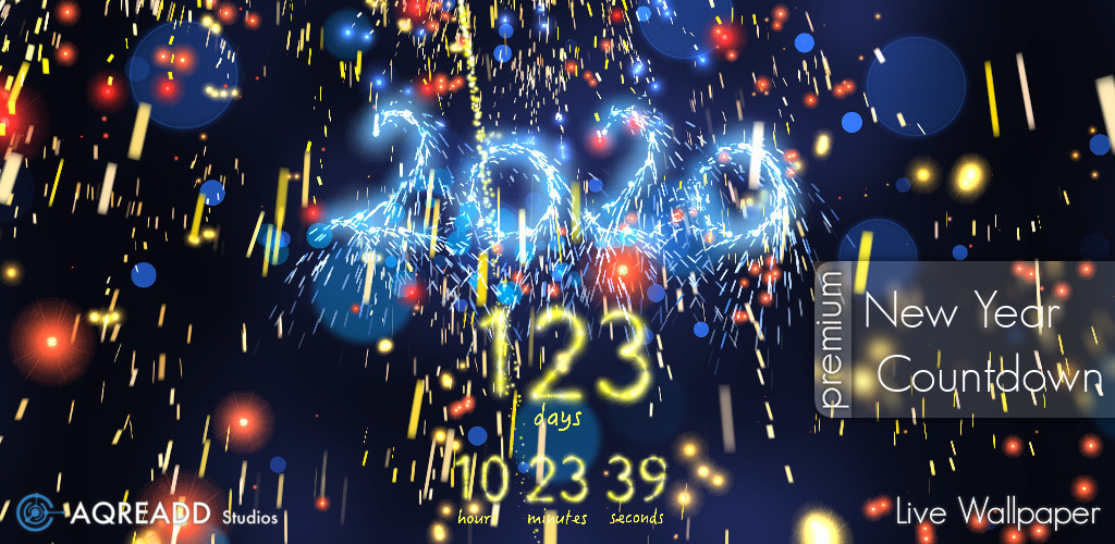 Captivating New Year Countdown App For Android