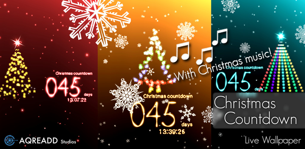 Christmas Countdown Live Wallpaper